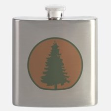 Arbor Day Evergreen Flask