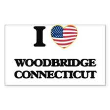 I love Woodbridge Connecticut Decal