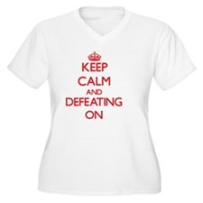 Defeating Plus Size T-Shirt