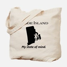 Rhode Island - My State of Mind Tote Bag