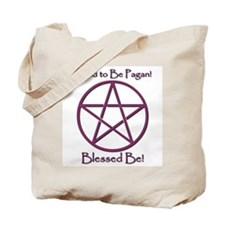 Pagan Pride (Purple) Tote Bag