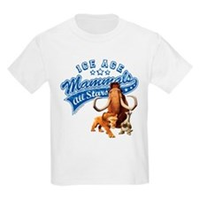 Ice Age Mammals All Stars T-Shirt
