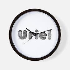 Uriel Wolf Wall Clock