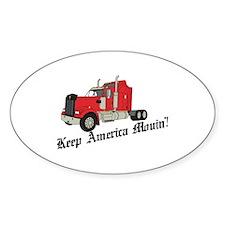 Keep America Movin! Decal
