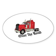 Over The Road Decal