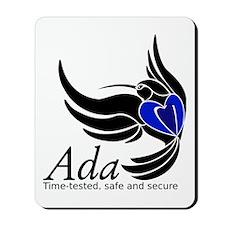 Ada Mascot Logo Mousepad