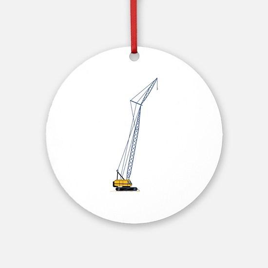Crane Ornament (Round)