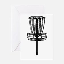Funny Disc golf Greeting Card