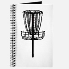 Cute Disc golf basket Journal