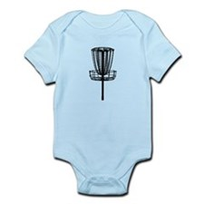 Cute Disc golf basket Infant Bodysuit