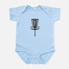 Cute Disc golf Infant Bodysuit