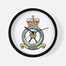 Royal Air Force Regt wOut Text Wall Clock