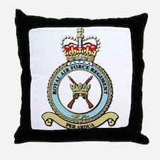 Royal Air Force Regt wOut Text Throw Pillow