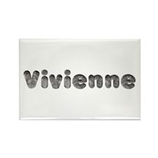 Vivienne Wolf Rectangle Magnet