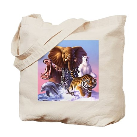 Animal Magic 3 Tote Bag