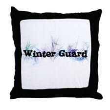 Winter Guard Throw Pillow