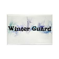 Winter Guard Rectangle Magnet