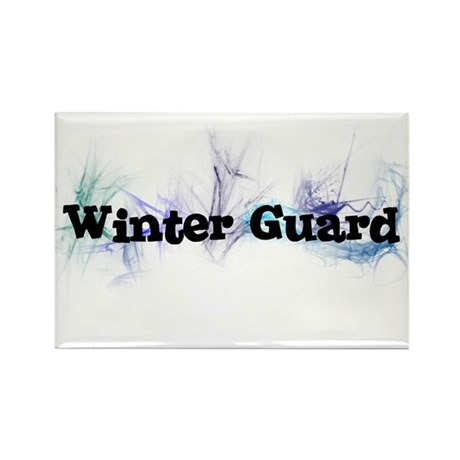 Winter Guard Rectangle Magnet