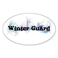 Winter Guard Oval Decal