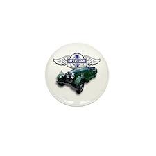 Green British Morgan Mini Button (10 pack)