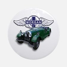 Green British Morgan Ornament (Round)