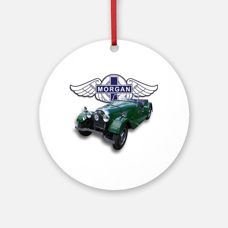 Green British Morgan Ornament (Round)