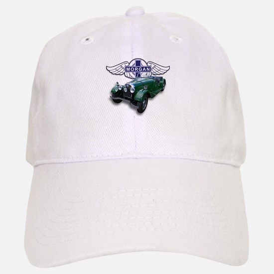 Green British Morgan Baseball Baseball Cap