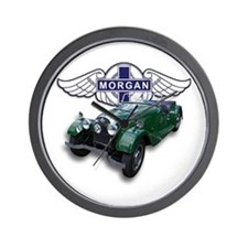 Green British Morgan Wall Clock