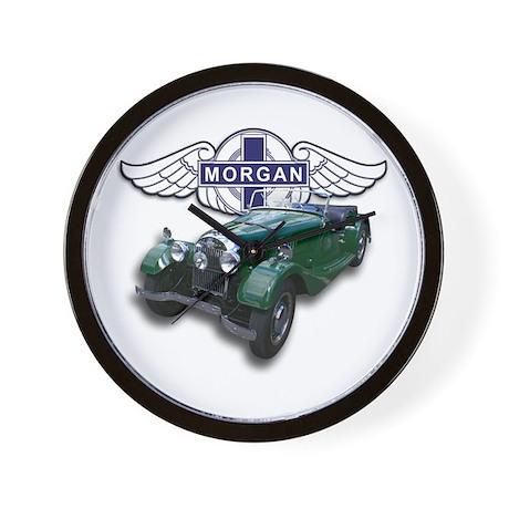 Green British Morgan Wall Clock