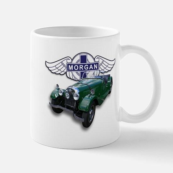 Green British Morgan Mug