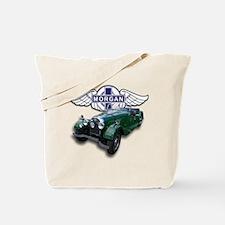 Green British Morgan Tote Bag