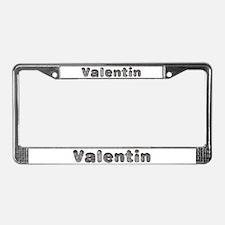Valentin Wolf License Plate Frame