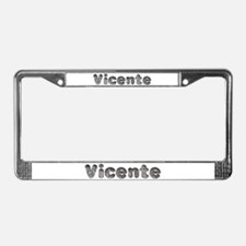 Vicente Wolf License Plate Frame