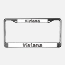 Viviana Wolf License Plate Frame
