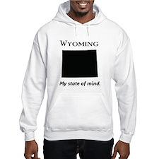 Wyoming - My State of Mind Hoodie