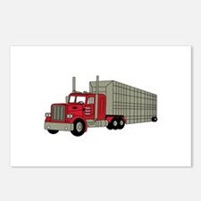 Semi Truck Postcards (Package of 8)