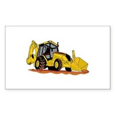 Backhoe Loader Decal
