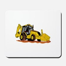 Backhoe Loader Mousepad