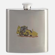 Backhoe Loader Flask