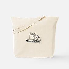 Truck Outline Tote Bag