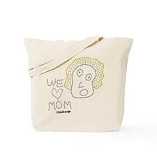 We Love Mom The Goldbergs Tote Bag