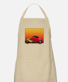 Red Hot Rod with Flames BBQ Apron