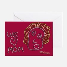 We Love Mom The Goldbergs Greeting Cards