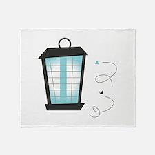 Lighting The Way Throw Blanket