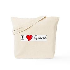 I Love Guard Tote Bag