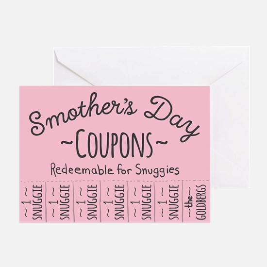 Smother's Day Coupons The Goldbergs Greeting Cards