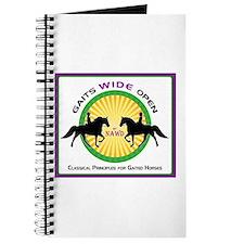 Gaits Wide Open Logo Journal