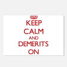 Demerits Postcards (Package of 8)