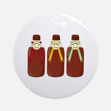 Baking Extracts Ornament (Round)