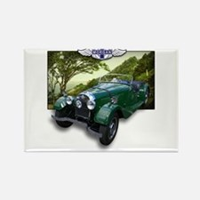 British Racing Green Morgan Rectangle Magnet